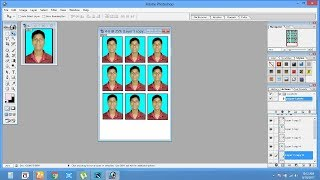 create Passport size Photo in adobe Photoshop 7.0 hindi=by soven roy sovenroy