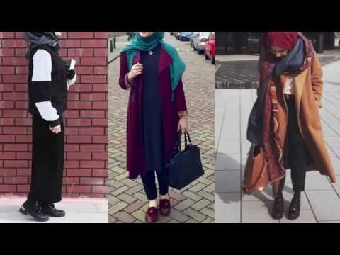Winter Outfits Hijab Lookbook Casual Style Hijab