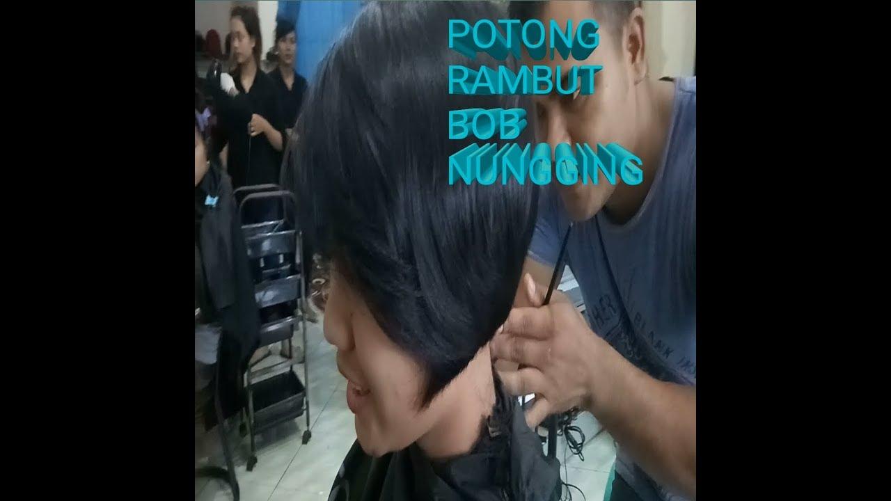 POTONG RAMBUT BOB NUNGGING - YouTube 0ee50a1027