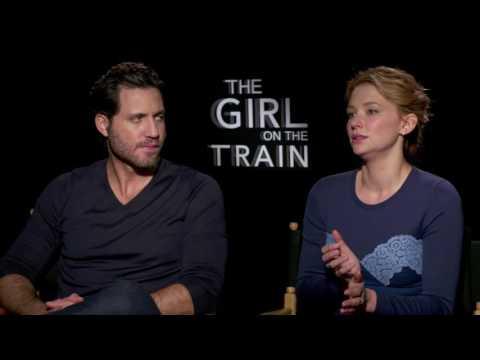 The Girl on the Train: Haley Bennett & Edgar Ramirez Official Movie Interview
