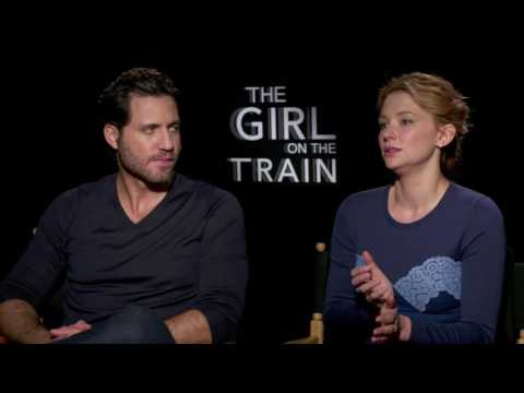 The Girl on the Train: Haley Bennett & Edgar Ramirez Official Movie Interview