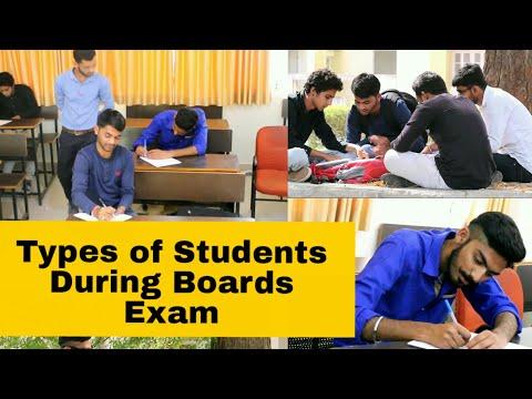 Types of Students During Boards Exam || ગુજરાતીઓ ની પરીક્ષા તૈયારી || School Life Exam Preparation