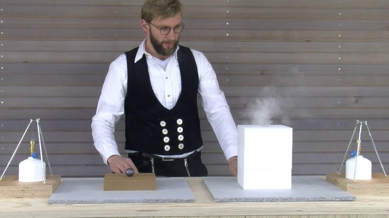 Fire Reaction: STEICO Wood Fibre Insulation vs Polystyrene