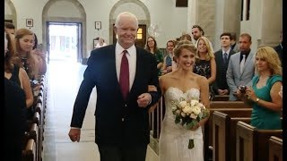This Bride's Dad Was Murdered 10 Years Ago, But A Part Of Him Was With Her Walking Down The Aisle thumbnail