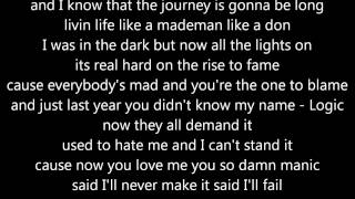 Logic As I Am - Lyrics