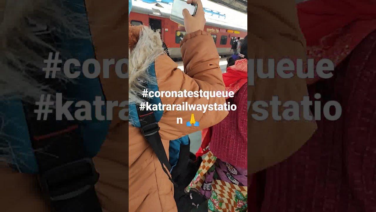 #katra #coronatest #shorts Jai mata Di 🙏
