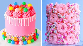 Creative Colorful Cake Decorating For Any Occasion  My Favorite Cake Hack Recipe  So Perfect Cake