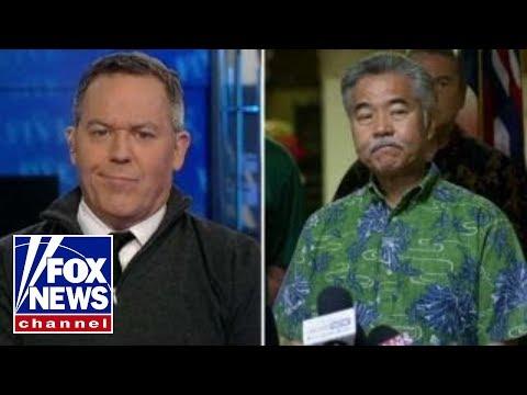 Gutfeld on the Hawaii governor
