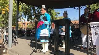 Indigenous Peoples Day Celebration 2017 -  Zuni Pueblo - Soaring Eagle Dance Group Clip 6