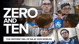 The Historic Fail of NA at the 2015 World Championship