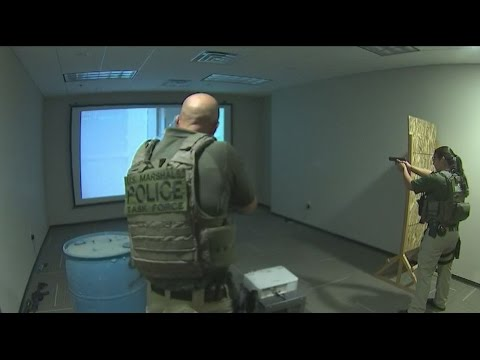 Training officers in use of force situations