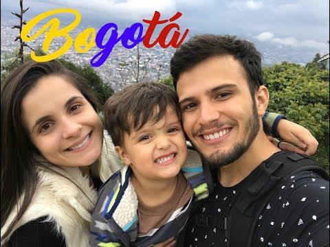 UM DIA EM BOGOTÁ - GASTAMOS 300.000 !!!!