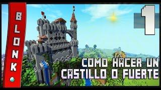 Como Hacer Un Castillo En Minecraft - #1