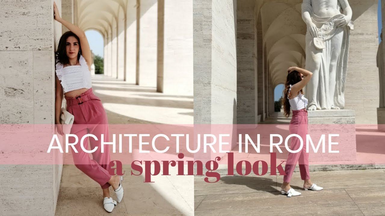 [VIDEO] - A day in Rome: Spring 2019 Outfit | Italian Fashion by Eva Redson 4
