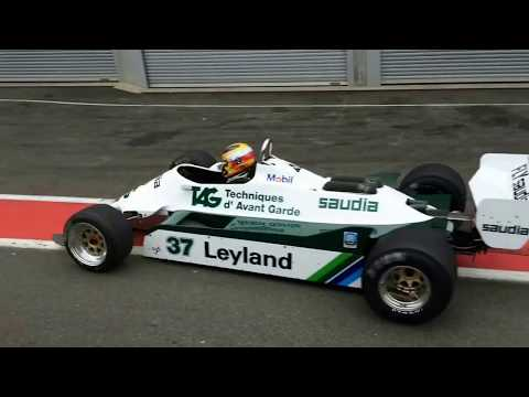 2 Historic F1 DFV Ford-Cosworth ICONIC V8 LOUD starts