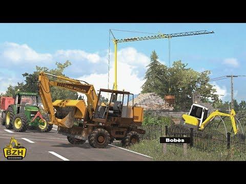 FS17 - Travaux Publics Terrassement Case-Poclain 688 #2
