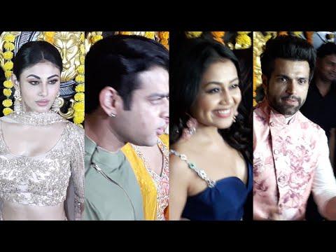 Mouni Roy, Karan Patel, Neha Kakkar & Rithvik Dhanjani Attend Ekta Kapoor Diwali Bash 2018