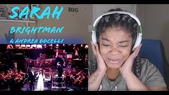 Sarah Brightman & Andrea Bocelli - Time to Say Goodbye (1997) REACTION