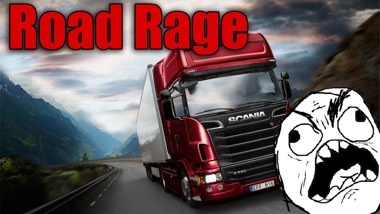 road rage euro truck simulator 2 youtube. Black Bedroom Furniture Sets. Home Design Ideas