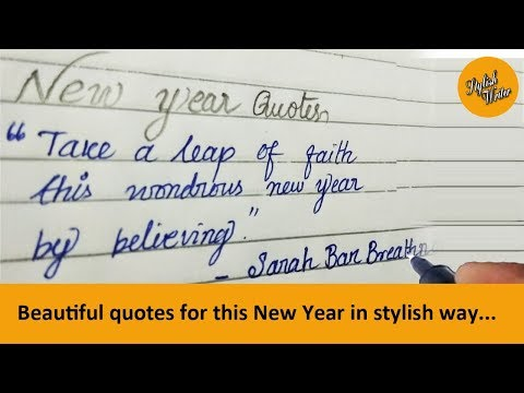 Inspirational Happy New Yer 2018 Quotes And Sayings From Famous ...