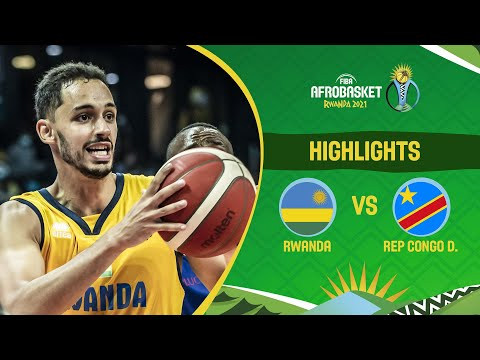 Rwanda - Congo DR | Game Highlights - FIBA AfroBasket 2021