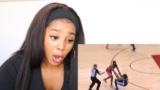 """NBA PLAYERS """"LOSING THEIR CALM"""" MOMENTS 