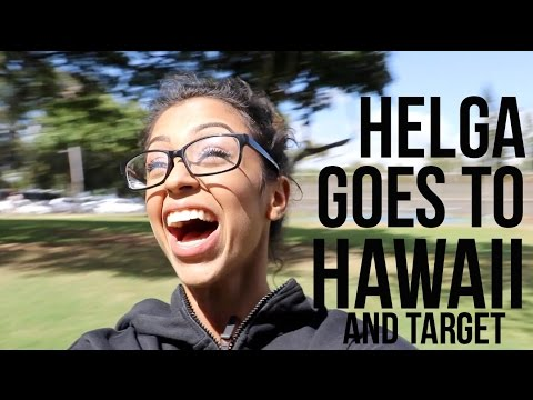 HELGA GOES TO HAWAII!!