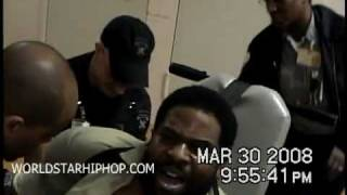 Video  Hard To Watch  Footage Of Sean Levert Son Of R B Singer Eddie Levert Screaming For Help As He Goes Through Drug Detoxic While Prison Guards Put Him In Restraints Instead Of A Hospital Leaks On The N
