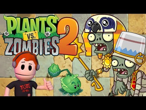 PLANTS VERSUS ZOMBIES 2 PLAYTHROUGH LIVESTREAM - MORE AWESOME LEVELS AND ITEMS TO DISCOVER