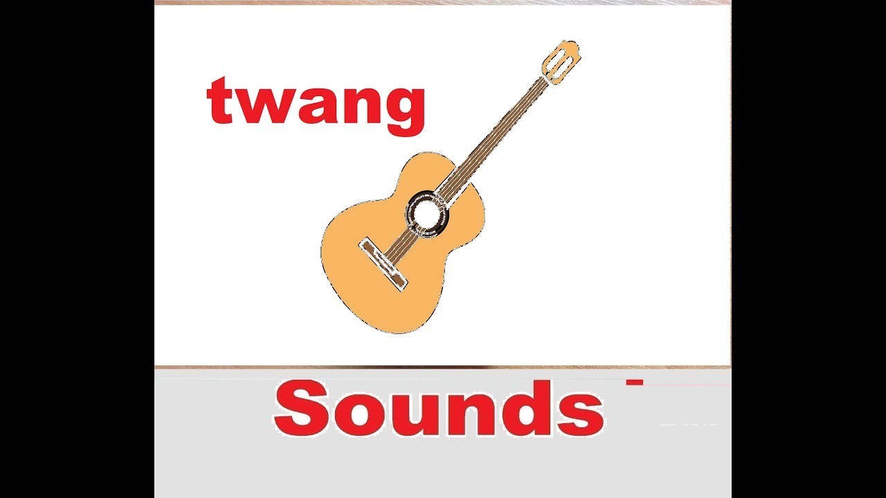 twang guitar sound effects all sounds youtube. Black Bedroom Furniture Sets. Home Design Ideas
