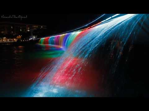 """Saigon's Anh Sao """"Starlight"""" Bridge ♥ Nocturnal Spectacle of Light Water and Color"""