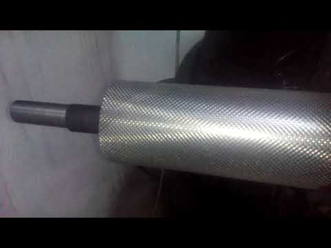 Making Roller in milling machine