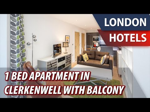 1 Bed Apartment In Clerkenwell With Balcony | Review Hotel In London, Great Britain