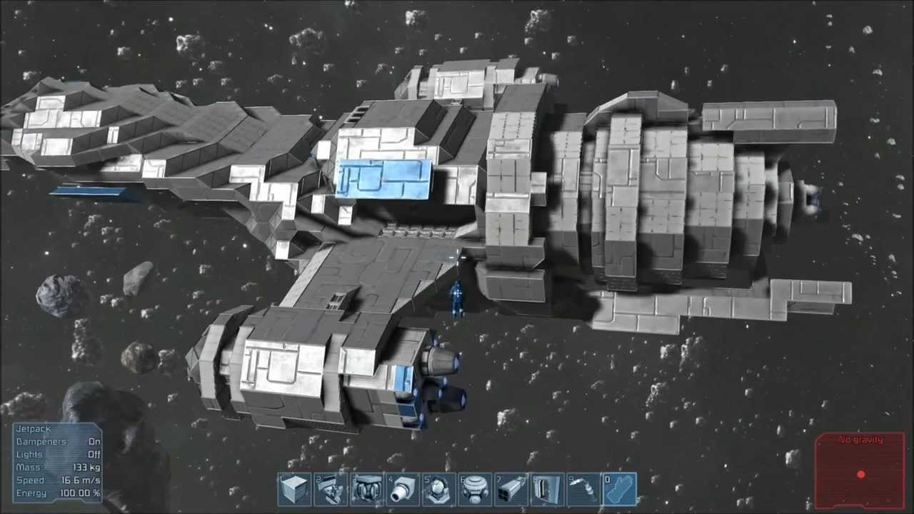 Building Ship Space Engineers