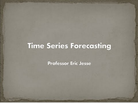 Time Series Forecasting Models