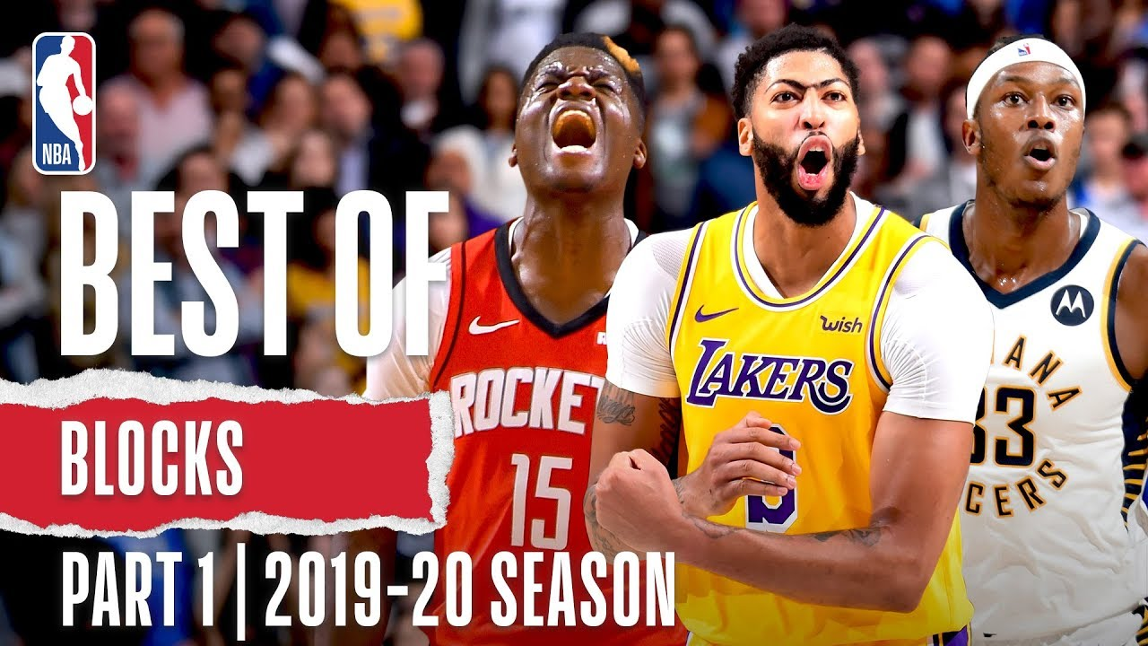 Best Of Blocks Part 1 2019 20 Nba Season Youtube