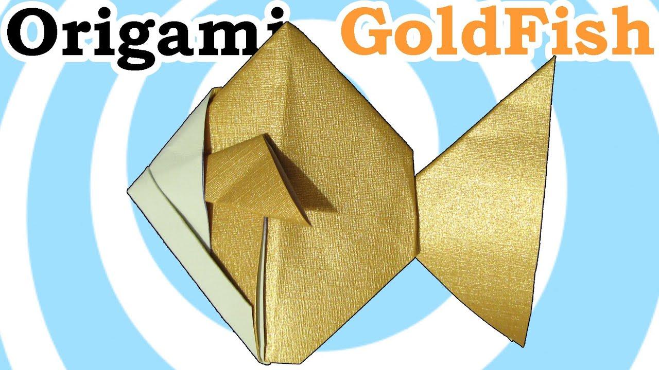 Origami Goldfish instructions - YouTube - photo#42