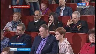 Новосибирцы приняли участие в ток-шоу о битве под Москвой