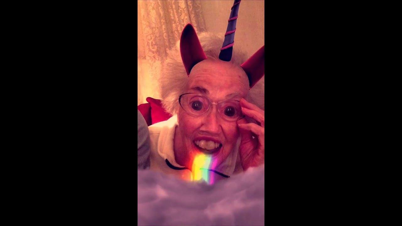 Grandma snapchat