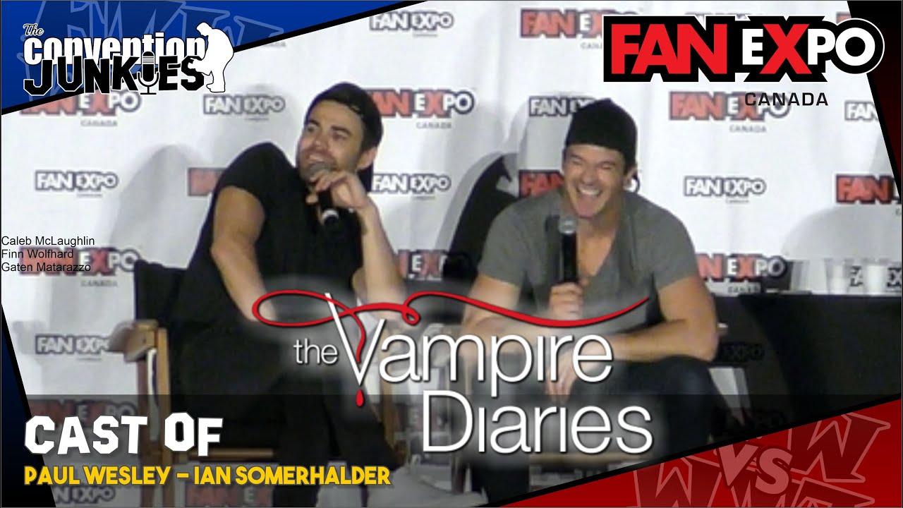 Download The Vampire Diaries (Paul Wesley & Ian Somerhalder) Fan Expo Canada 2018 Full Panel
