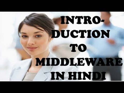 INTRODUCTION TO MIDDLEWARE IN HINDI
