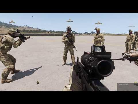 "ArmA 3, 7th Infantry Division ""Bayonet"" Training"