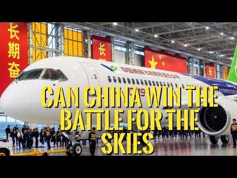 Can China Break Airbus & Boeing's Aviation Duopoly With The Comac C919 ?!