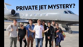 Download MYSTERY ABOARD A PRIVATE JET!! Mp3 and Videos