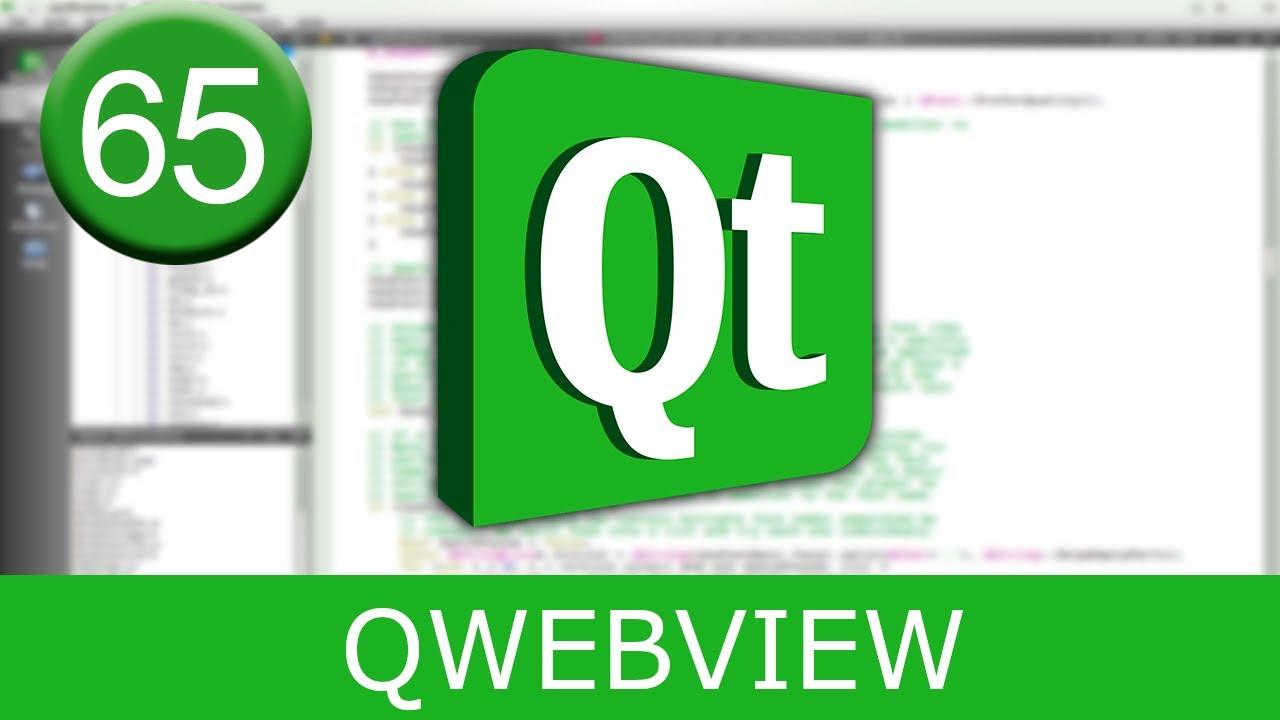Tutorial Qt Creator - QWebView