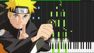 Blue Bird - Naruto Shippuuden (Opening 3) [Piano Tutorial] (Synthesia) // Animenz