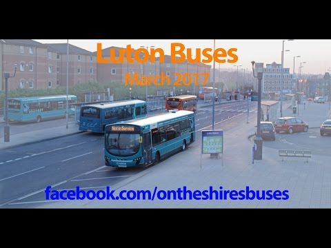 Luton Buses - March 2017 (Luton Station Interchange)