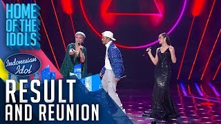 LYODRA X LEA SIMANJUNTAK X JFLOW - RESULT & REUNION - Indonesian Idol 2020