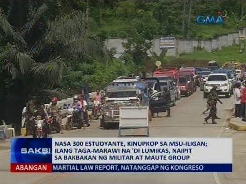 Saksi: Nasa 300 estudyante, kinupkop ng Mindanao State University- Iligan