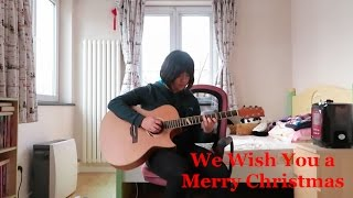 We Wish You a Merry Christmas (Fingerstyle guitar cover) FREE TABS